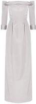 Carolina Herrera Off-The-Shoulder Gown