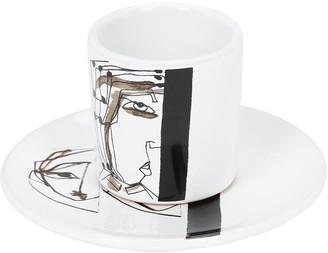 My Self V Coffee Cup & Saucer