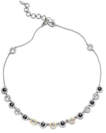 Coomi Opera Black Spinel & Diamond Necklace, 16""