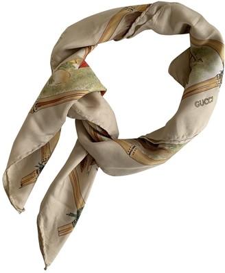 Gucci Multicolour Silk Scarves