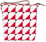 Marni graphic print clutch bag