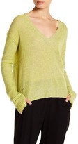 Zadig & Voltaire Rina Pointelle Accent Cashmere Sweater