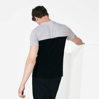 Lacoste Men's SPORT Color-Blocked Cotton T-Shirt