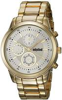 UNLISTED WATCHES Men's 'Sport' Quartz Metal and Alloy Casual Watch, Color:Gold-Toned (Model: 10027764)