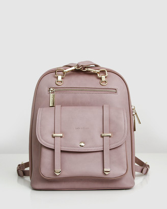 Belle & Bloom 5th Ave Leather Backpack