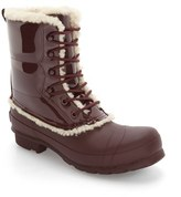 Hunter Women's Genuine Shearling Lined Waterproof Boot