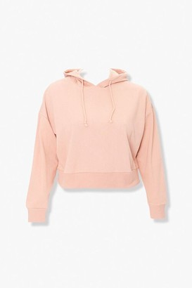Forever 21 Plus Size Dropped-Shoulder Hoodie