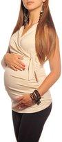 Purpless Maternity New Maternity V Neck Top 5104