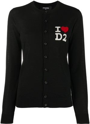 DSQUARED2 I Love D2 cardigan