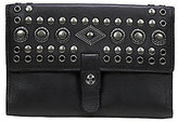 Patricia Nash Burnished Boho Studded Collection Colli Trifold Wallet