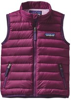 Patagonia Toddler Girl's Water Repellent Down Sweater Vest