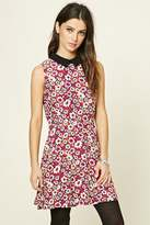 Forever 21 FOREVER 21+ Fit and Flare Floral Mini Dress