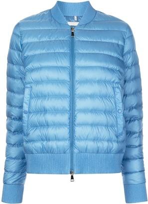 Moncler Abricot padded bomber jacket
