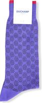 Duchamp Spot-patterned knitted socks