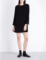 Claudie Pierlot Riad crepe and lace dress