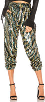 Tularosa x REVOLVE Cara Sequin Pant in Metallic Silver. - size L (also in M,S,XS)
