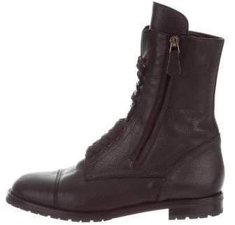 Manolo Blahnik Campcho Combat Boots