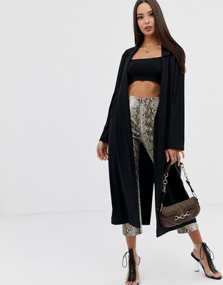 Asos DESIGN soft duster coat