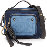 See by Chloe Pattie Denim Camera Bag