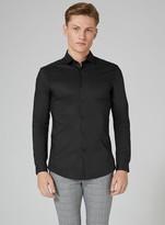 TopmanTopman Black Stretch Skinny Smart Shirt