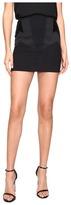 Neil Barrett Denim Stretch + Velluto Liscio + Raso Skirt Women's Skirt