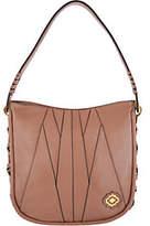 Oryany Pebble Leather & Suede Hobo Handbag