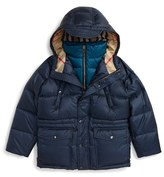 Burberry Boy's Two Layer Down Puffer Jacket