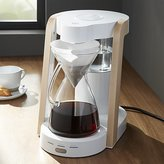 Crate & Barrel Ratio Eight White 8-Cup Coffee Maker