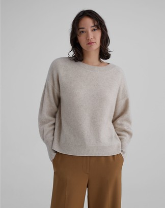 Club Monaco Boiled Cashmere Boatneck Sweater