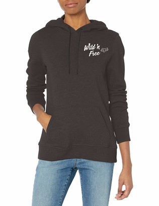 Fox Womens Women's Pullover Hooded Fleece
