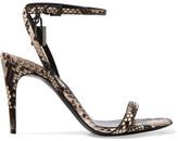 Tom Ford Python Sandals - Snake print