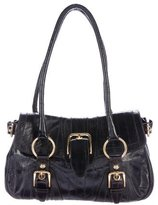Dolce & Gabbana Eel Buckle Shoulder Bag