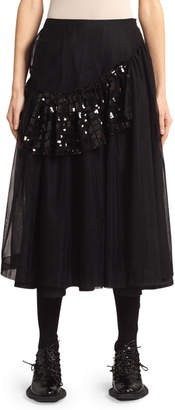 Simone Rocha Patchwork Frame Skirt