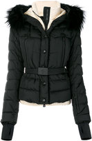 Moncler padded fur jacket