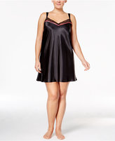 Thalia Sodi Plus Size Lace-Trimmed Chemise, Only at Macy's