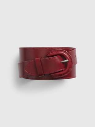 Gap Leather Cover Buckle Belt