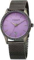 Akribos XXIV Women's Stainless Steel Mesh Watch
