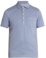 Brunello Cucinelli French-collar Cotton-piqué Polo Shirt