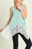 Umgee USA Lovely In Lace Top