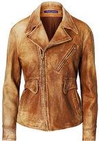 Ralph Lauren Jarrett Leather Jacket