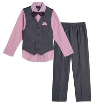 Nautica Baby Boys Iridescent Twill Vest Set
