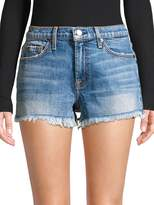 7 For All Mankind Cut-Off Denim Shorts