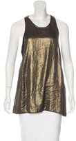 A.L.C. Metallic Sleeveless Top