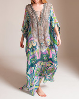 Camilla Plaza Nueva Lace-Up Kaftan
