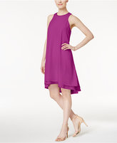 Rachel Roy Double Layer Trapeze Shift Dress