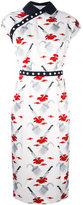Olympia Le-Tan Marnie Psycho print dress - women - viscose - 36