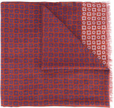 Corneliani printed scarf - men - Silk/Cotton - One Size