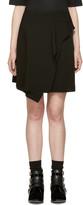 Isabel Marant Black Ruffled Alize Miniskirt