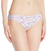 Maidenform Women's Comfort Devotion Lace Back Tanga Panty