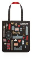 Harrods London Glitter Tote Bag
